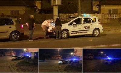 accident masina taxi