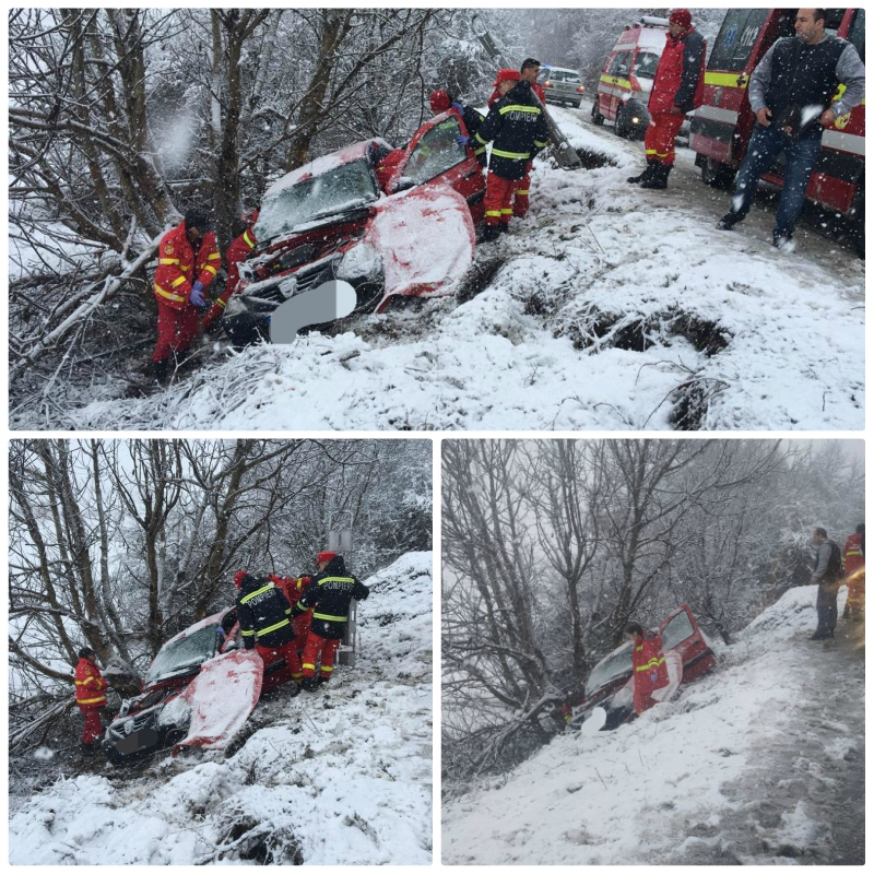 colaj accident sibiu 12.02.2019