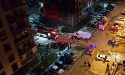 evacuare bloc acumulare gaze