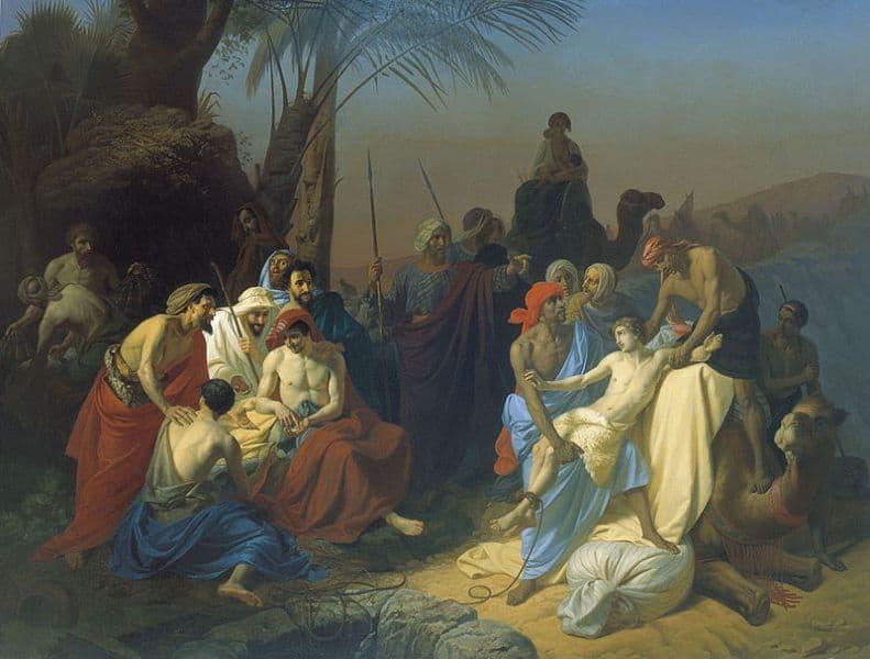 Iosif-vandut-frati-Egipt