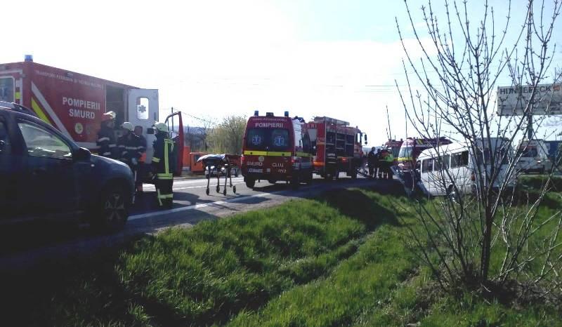 Helikopter szállította el egy Kolozs megyei baleset áldozatát