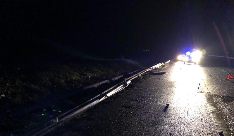 accident noaptea autostrada