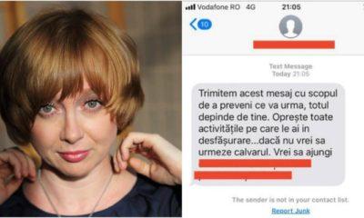 jurnalista amenintata