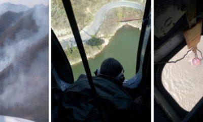 interventie elicopter incendiu