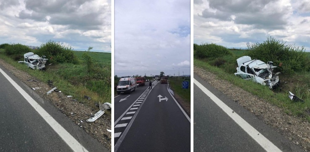 accident DN1 bihor