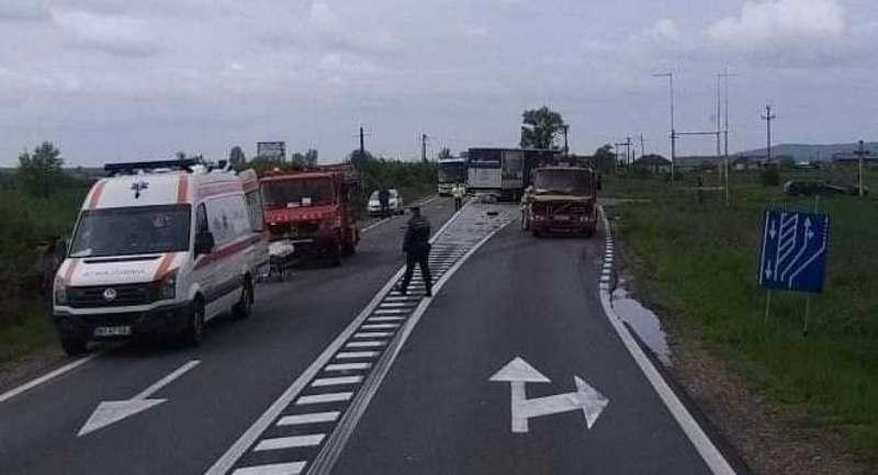 accident DN1 oradea alesd