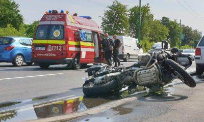 accident motocicleta brasov