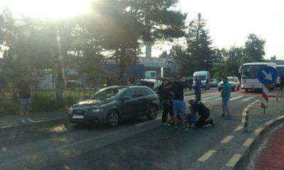 accident pieton ghimbav