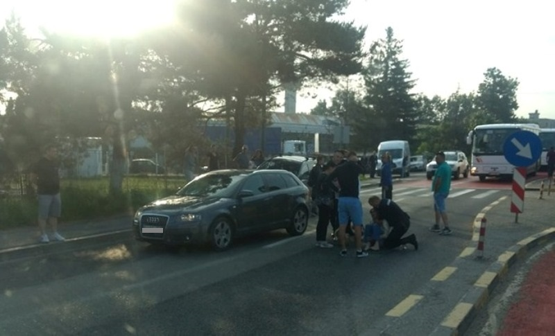 accident pieton ghimbav