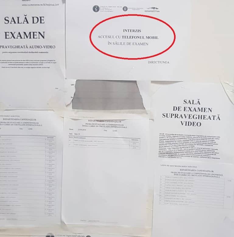 examen eliminata bac