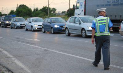 politist trafic masini
