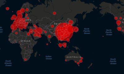 harta covid global