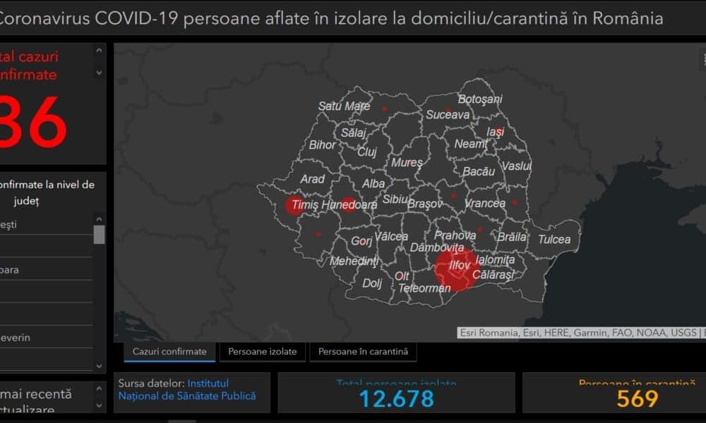 Harta Interactivă A Cazurilor De Coronavirus Din Romania Situația